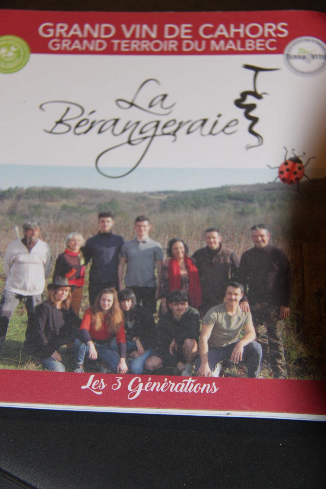 Domaine de la Bérangérie -Cahors